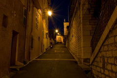 Dark Alley Royalty Free Stock Images