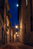 Dark alley in the old town Royalty Free Stock Photography