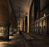 Dark Alley Stock Image