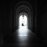 Dark Alley royalty free stock photography