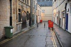 Dark Alleyway. Inner City Dark Alleyway Background Royalty Free Stock Photo