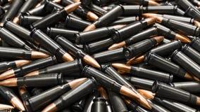Dark ammo Royalty Free Stock Photos