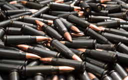 Dark ammo Stock Photo