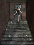 Dark angel Stock Photos