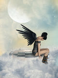 Dark angel Royalty Free Stock Photo