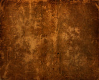 Dark Antique Old Leather Background Stock Images