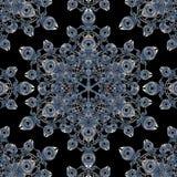 Dark Arabesque Ornament Royalty Free Stock Image