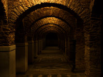 Dark archway royalty free stock photos