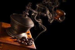 Aromatic coffee background. Stock Image