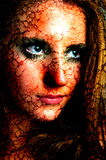 Dark art portrait Stock Photography