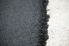 Dark asphalt Stock Image