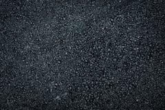 Dark asphalt roadbed. Royalty Free Stock Images