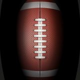 Dark Background of American Football ball. Vector Royalty Free Stock Photography
