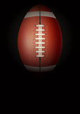 Dark Background of american football. Vector Stock Image