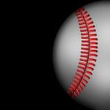 Dark  Background  of  Baseball  sport Stock Images