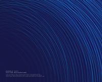 Dark background with blue curve lines vector. Design Stock Photos