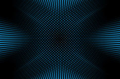 Dark background with blue dots. Abstract dark background with blue dots in motion Royalty Free Stock Photography