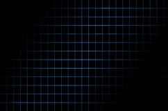 Dark background with a  blue grid Royalty Free Stock Photo