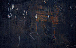 Dark background. Children`s scribble. Stock Photos