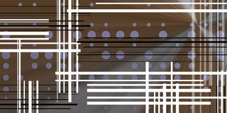 Dark background with circles and black lines. Image with circles and lines over metalic background. Tech space for modern concepts Royalty Free Stock Images
