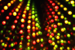 Dark background with color lights Royalty Free Stock Image