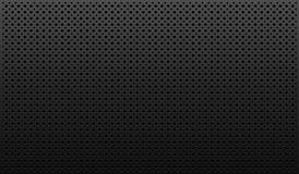 Dark background. Dark gray texture with black dots Royalty Free Stock Photo