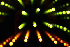 Dark background with green lights Royalty Free Stock Photography
