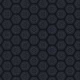 Dark background with hexagonal patterns Royalty Free Stock Image