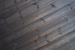Dark background of the long old pine boards Royalty Free Stock Photography