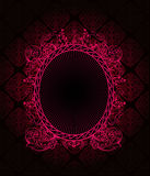 Dark background with pink. Vector Royalty Free Stock Photography