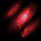 Dark background with red light Stock Image