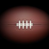 Dark Background of rugby ball. Vector Illustration Royalty Free Stock Photo