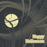 A dark background in the style of Halloween with a place for the inscription. Illustration Stock Illustration
