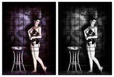 Dark Ballerina Stock Image