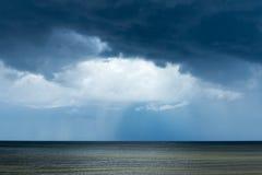 Dark Baltic sea. Royalty Free Stock Image