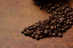 Dark beans Royalty Free Stock Photography