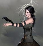Dark beauty stock illustration