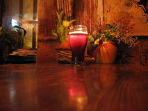 Dark beer. In a pub Stock Photography