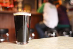 Dark beer Royalty Free Stock Photo