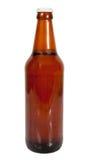 Dark beer bottle Stock Images