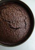 Dark beer and chocolate cake Royalty Free Stock Image