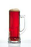 Dark beer glass Royalty Free Stock Photography
