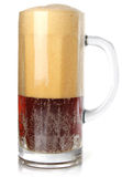 Dark beer in goblet with rich froth Royalty Free Stock Photography