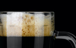 Dark beer. Royalty Free Stock Photos