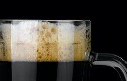 Dark beer. Royalty Free Stock Photos