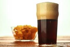 Dark beer pint Stock Images