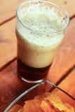 Dark beer pint Royalty Free Stock Images