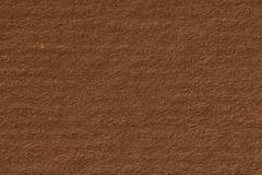 Dark beige kraft paper texture with horizontal stripes for backg. Round. High resolution photo Stock Images