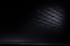 Dark and black carbon fiber background texture Stock Image