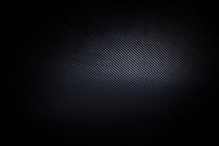 Dark and black carbon fiber background texture Stock Image